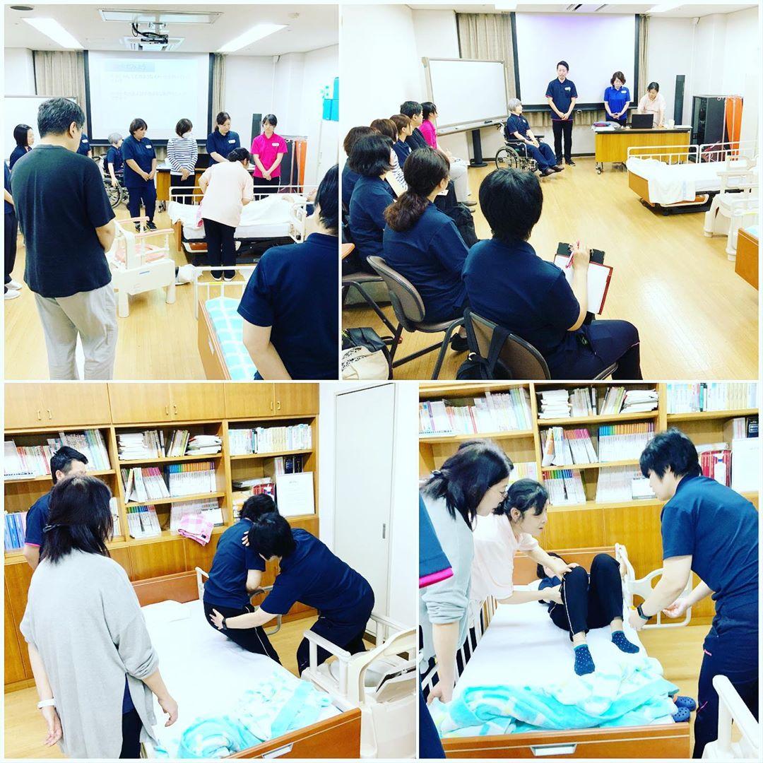 法人介護士会主催の中途採用者向け生活支援技術講習会がありました。