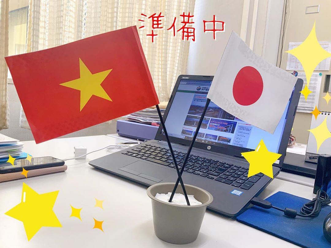 お迎えに向かう準備中です 1月10日にベトナムから日本へ入国し、専門機関で講習を受けていた実習生達。