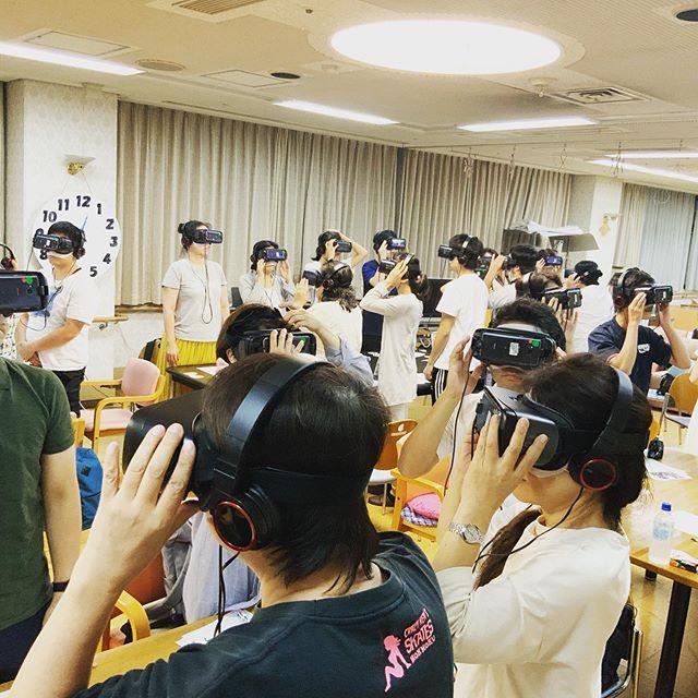 VR認知症体験会開催! 神戸福生会 研修事業部です(^_^)