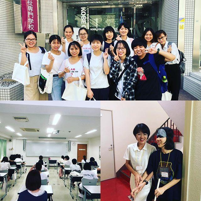 オープンキャンパスに参加しました!! 神戸福生会の採用担当です。