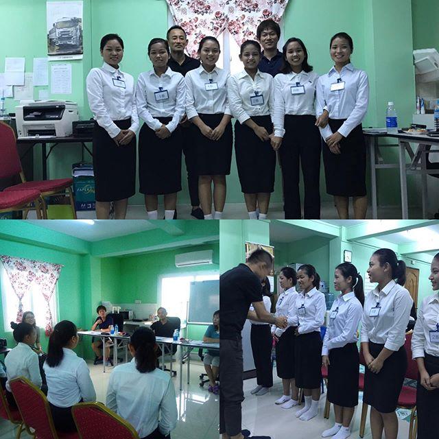 ミャンマーでの面接会を行いました!
