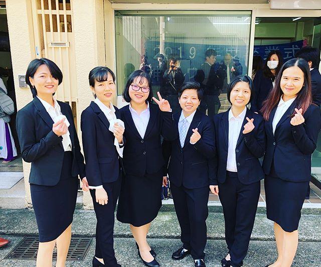 ㊗️卒業㊗️ 神戸福生会の採用担当です。