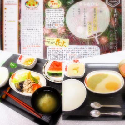 『7月イベント食・冷しゃぶ』